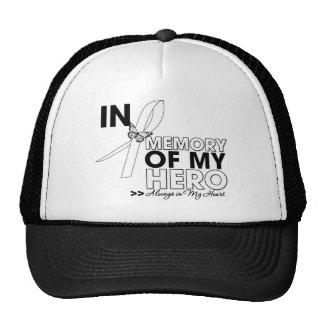 Lung Disease Tribute In Memory of My Hero Trucker Hat