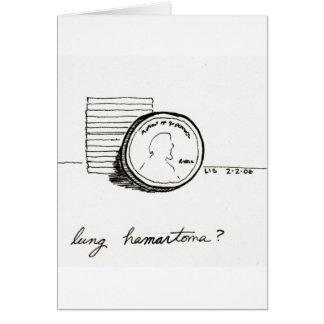 Lung Hamartoma card