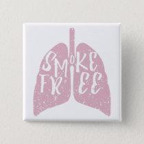 Lung Health Smoke Free Button