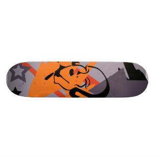 Lung Line Art Comp Skateboard
