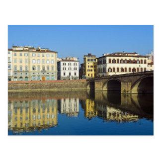 Lungarno Vespucci, Ponte alla Carraia, Postcard
