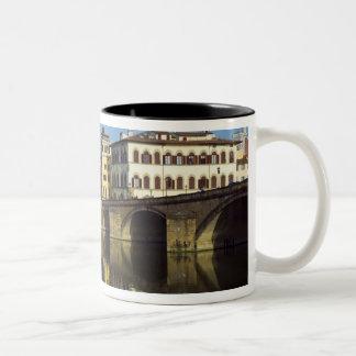 Lungarno Vespucci, Ponte alla Carraia, Two-Tone Coffee Mug