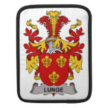 Lunge Family Crest iPad Sleeves