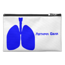 Lungs Asthma Emergency Kit Travel Accessory Bag