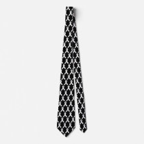 Lungs Cancer Awareness White Ribbon Neck Tie