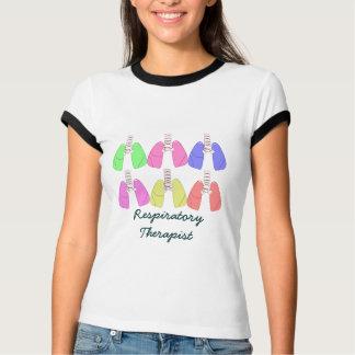 Lungs Multi Colored--Respiratory Therapist Design T Shirts