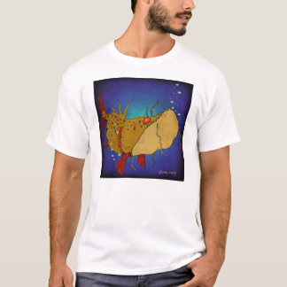 Lunker On Blue T-Shirt