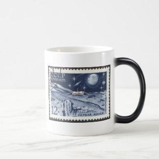 Lunokhod 1 Russian Moon Probe 1970 11 Oz Magic Heat Color-Changing Coffee Mug