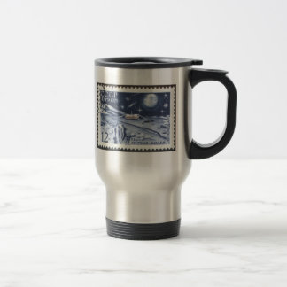 Lunokhod 1 Russian Moon Probe 1970 15 Oz Stainless Steel Travel Mug