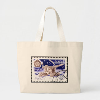 Lunokhod-1 Russian Space Robot Canvas Bags