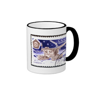 Lunokhod-1 Russian Space Robot Ringer Coffee Mug