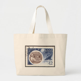 Lunokhod 1 Russian (USSR) Ground Control Tote Bags