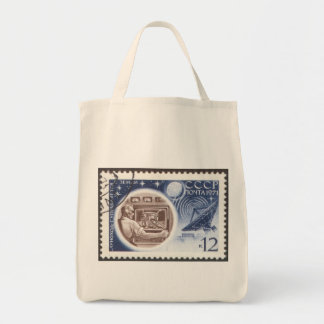 Lunokhod 1 Russian (USSR) Ground Control Canvas Bags