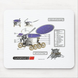 Lunokhod 2 Moon Rover Mouse Pad
