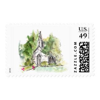 Luola's Chapel, Wilmington, NC Postage