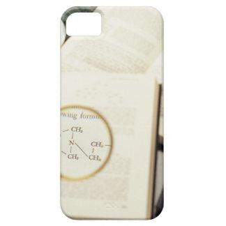 Lupa que agranda el diagrama molecular iPhone 5 carcasas