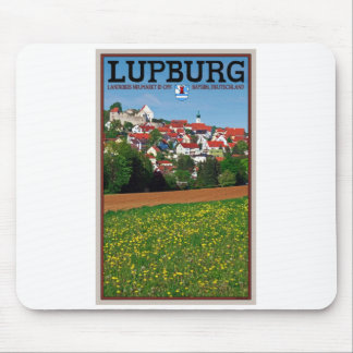 Lupburg - Village View from Fields Mouse Pad