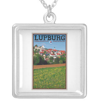 Lupburg - Village View from Fields Square Pendant Necklace