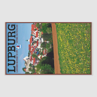Lupburg - Village View from Fields Rectangle Stickers