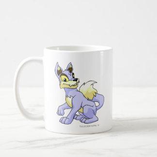 Lupe Blue Classic White Coffee Mug