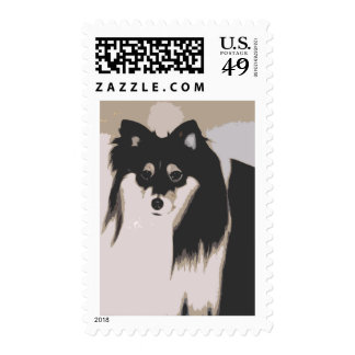 lupe dog cartoon stamps