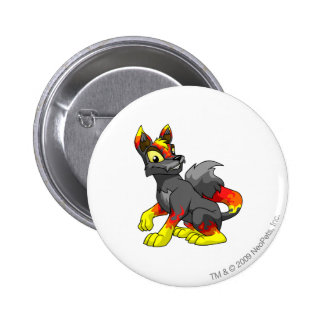 Lupe Fire Pinback Button