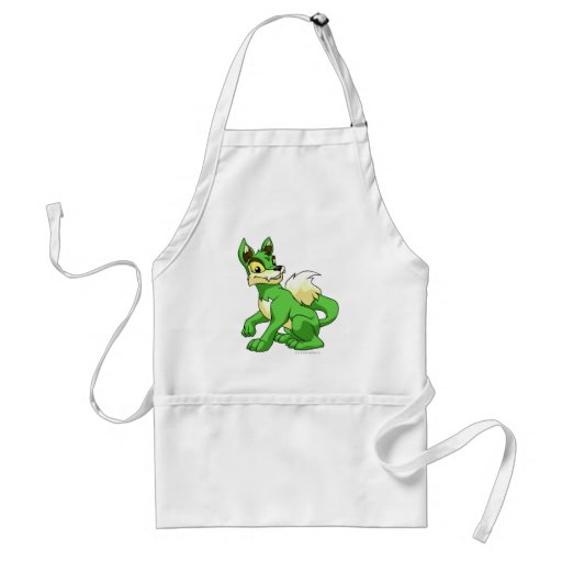 Lupe Green Adult Apron