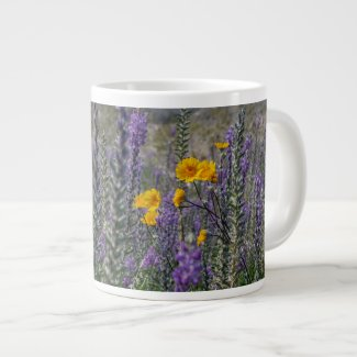 Lupine and Desert Sunflower Mug
