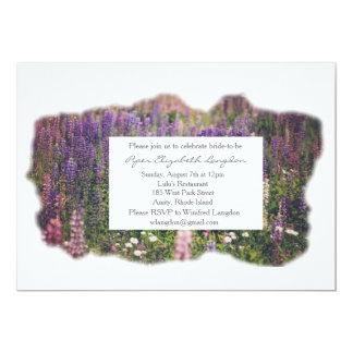 Lupine Invitation