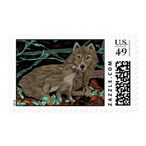 Lupine Love postage