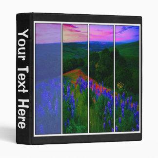 Lupine Meadow Binder