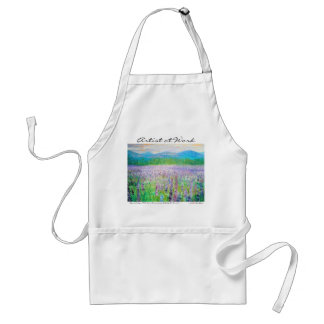 Lupine of Sugar Hill Adult Apron