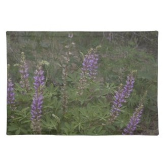 Lupine Placemat placemat