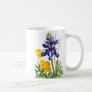 Lupine Poppies Mug