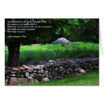 Lupine Wall Quote Card , Chief Seattle