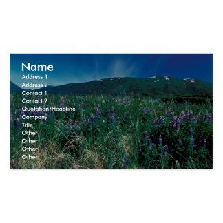 Lupines on Kodiak Business Card