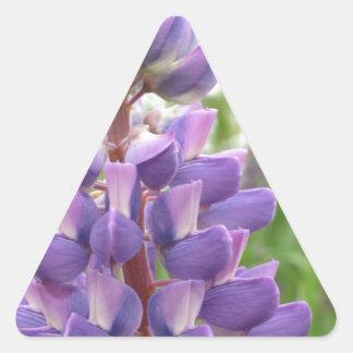Lupines Pegatina Triangulo Personalizadas