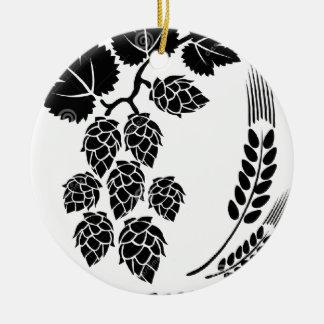 Lupulados Ceramic Ornament