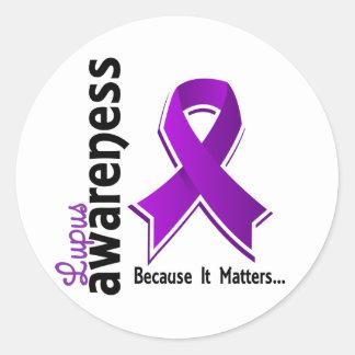 Lupus Awareness 5 Stickers