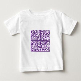 Lupus Awareness Bar Codes for Mobile Phones Baby T-Shirt