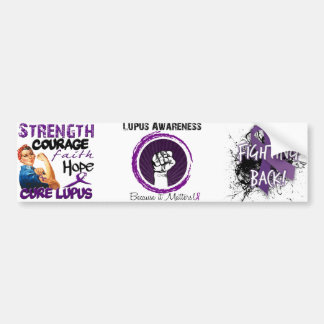 Lupus Awareness.... Because it matters! Bumper Sticker