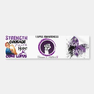 Lupus Awareness.... Because it matters! Bumper Sticker