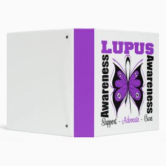 Lupus Awareness Butterfly Binder