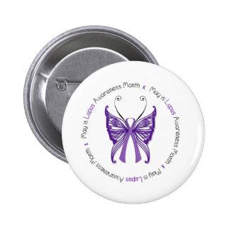 Lupus Awareness Buttons