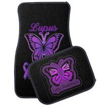 Lupus Awareness Car Floor Mat