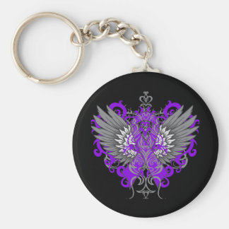 Lupus Awareness Cool Wings Keychains