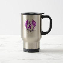 lupus awareness Fight Hope support Gifts Travel Mug