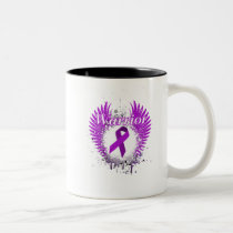 lupus awareness Fight Hope support Gifts Two-Tone Coffee Mug