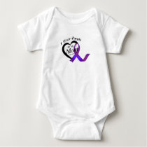 lupus awareness Fight Warrior support Gifts Baby Bodysuit