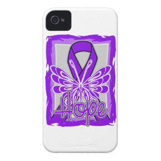 Lupus Awareness Hope Butterfly iPhone 4 Covers